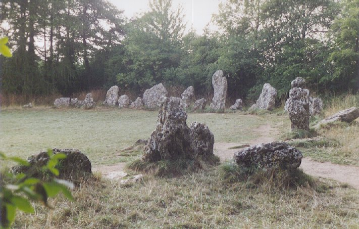 Rollright Stones Stone Circle, Oxfordshire