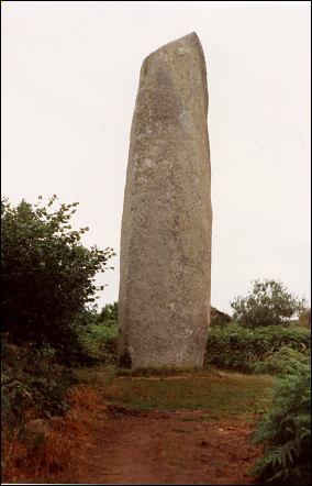 Kerloas Standing Stone, Brittany