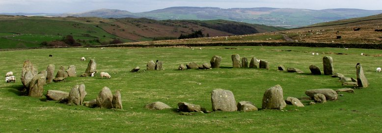 Swinside Stone Circle, Cumbria