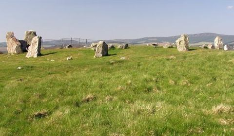 Tomnaverie Stone Circle, Aberdeenshire