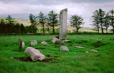 Glantane East Stone Circle, Cork